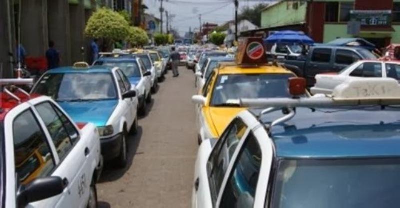 Desapercibido celebración del día del taxista en Tuxtepec