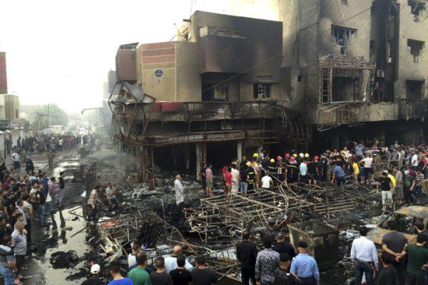 Masacre terrorista en Bagdad deja 125 muertos