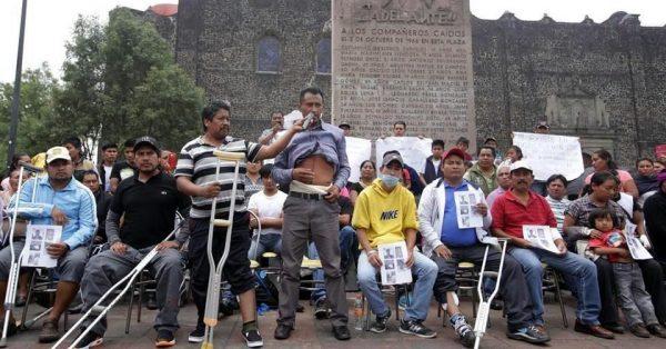 Víctimas de Nochixtlán llevan testimonio a la  ciudad de México
