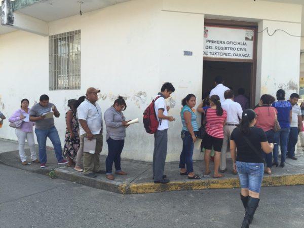 Tramita Registro Civil más de 300 actualizaciones diarias
