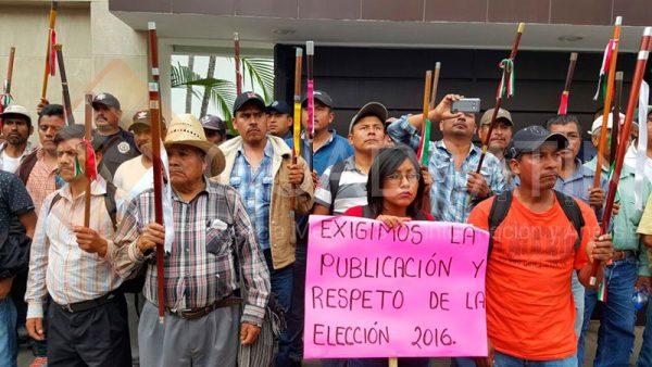 FOTOS: Marcha MORENA al tribunal electoral en Oaxaca
