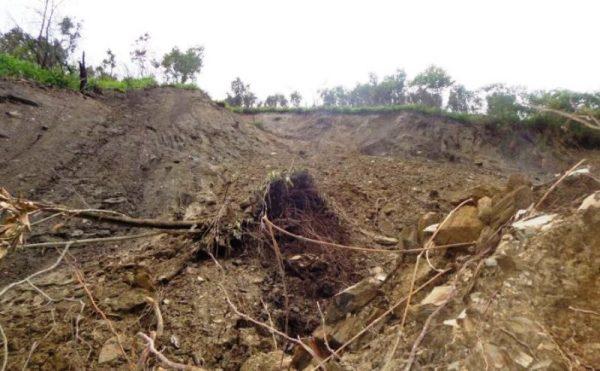 Declaratoria de emergencia por deslave, que sepultó a dos miembros de una familia en la Sierra Mazateca
