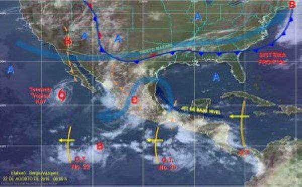Generará Onda tropical 23 tormentas muy fuertes en Oaxaca