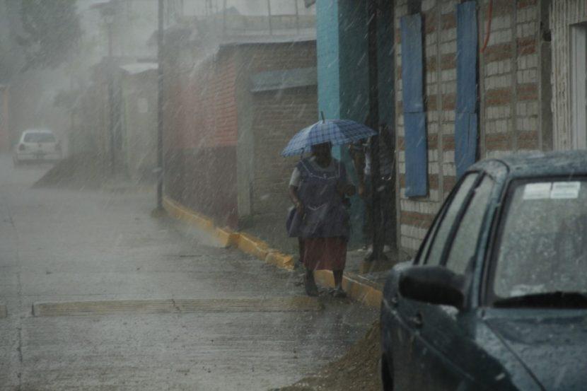Se pronostican lluvias muy fuertes para Tamaulipas, Puebla y Oaxaca