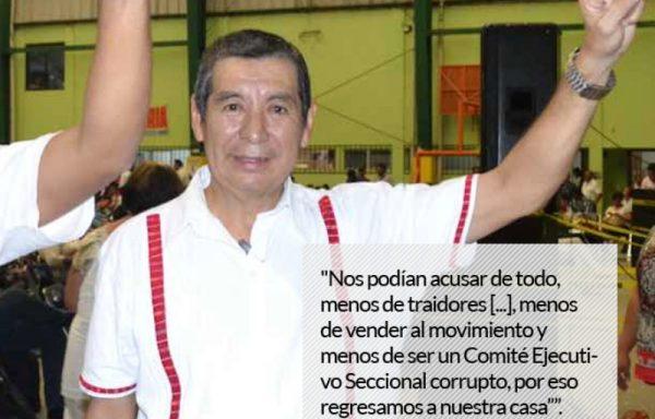 Las primeras palabras de Núñez libre: la resistencia continuará; por lo pronto, revisan parar el 22