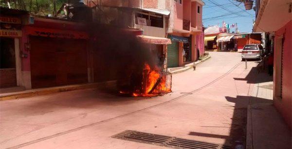 Suspenden servicios de taxi y mototaxi en Juquila