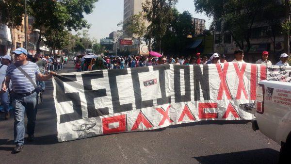 Amaga magisterio de Oaxaca con boicotear la Guelaguetza