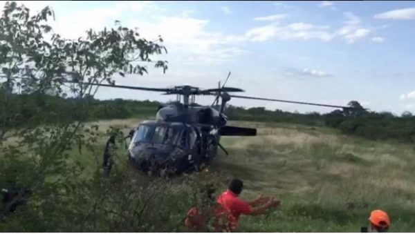 Cae Helicóptero de la SSP en Tamaulipas