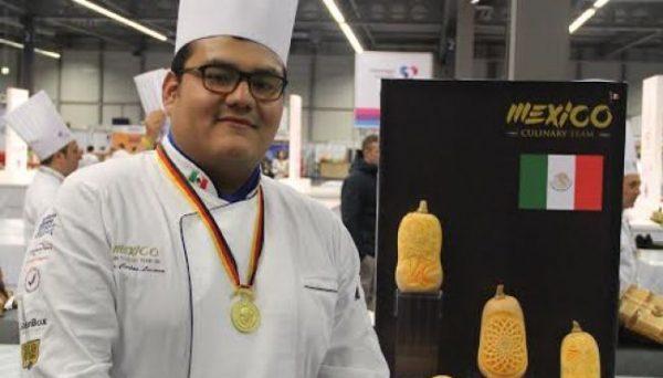 Mexicano gana medalla de oro en Olimpiadas Culinarias
