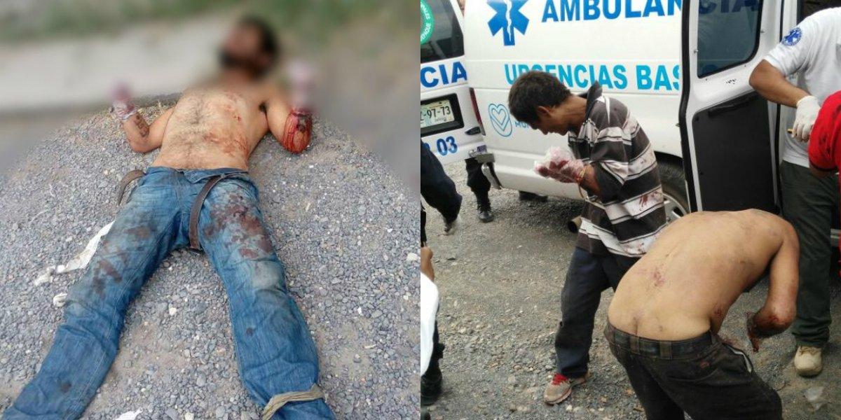 Cortan las manos a 7 presuntos ladrones en México, 1 muere