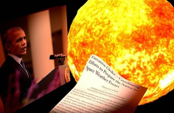 Ordena Obama prepararse para tormenta solar de gran escala