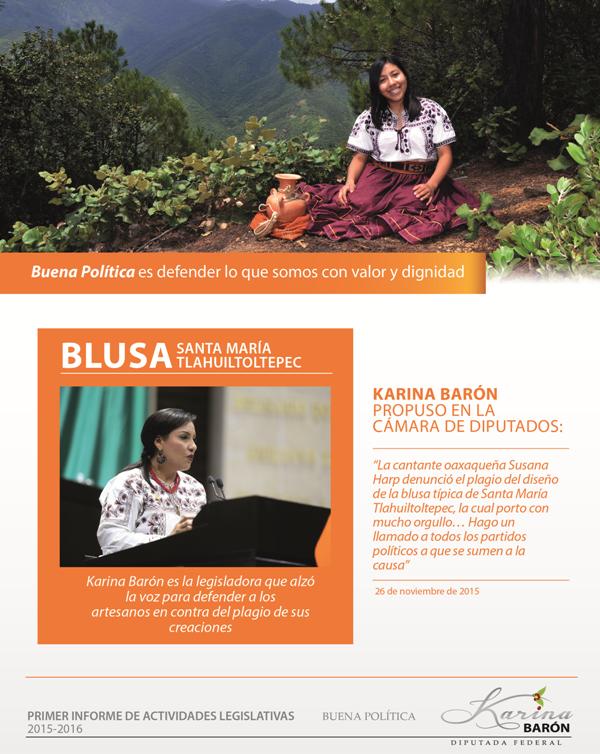Karina Barón: Oaxaca es la dignidad de México
