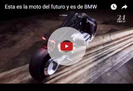 #VIDEO La moto del futuro se manejará sin casco y es de BMW