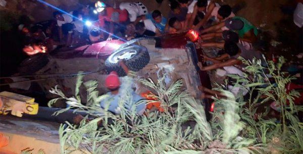 Confirman 3 muertos y 6 heridos en accidente de Salina Cruz