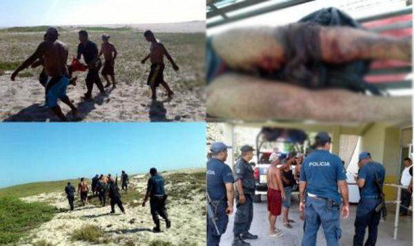 Cocodrilo ataca a otro pescador en Oaxaca