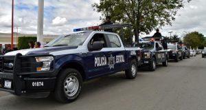 Confirma Dávila llegada de más de 130 elementos de la policía estatal