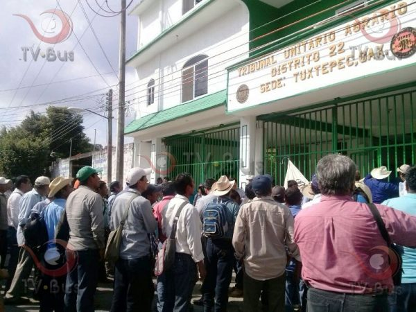 Comuneros de Úsila, exigen no ser despojados
