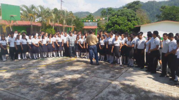 IEBO de Jacatepec agradece apoyo del Presidente Municipal