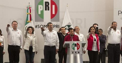 Nombran a Videgaray, Nuño y Narro consejeros políticos del PRI; ratifican a Humberto Moreira