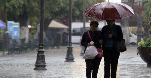 Continuarán lluvias en gran parte del Estado
