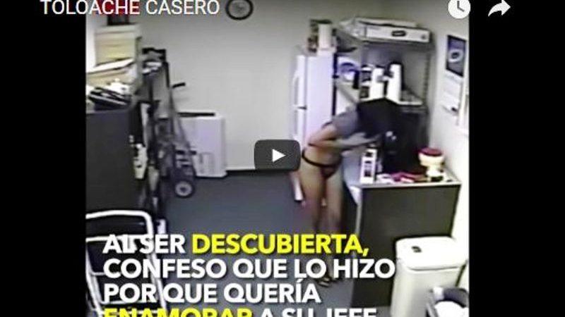 """#VIDEO Secretaria le prepara café a su jefe ¡con su leche materna!; """"Quería enamorarlo"""""""