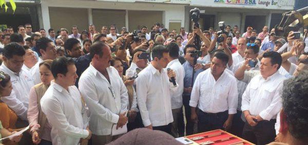 Visita de Murat, muestra compromiso con Tuxtepec: Dávila