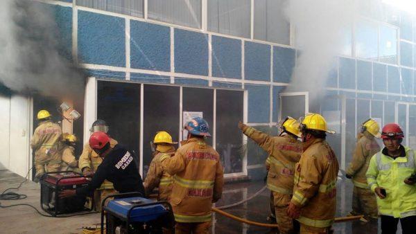 Incendian oficinas del PAN en Oaxaca
