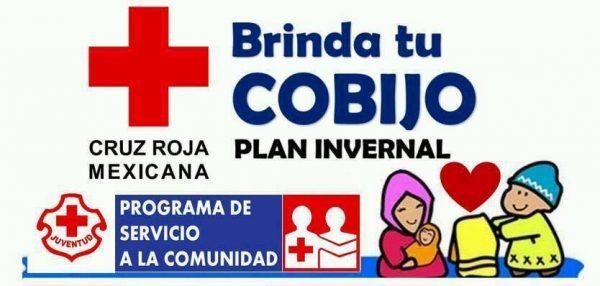 "Cruz Roja realiza campaña ""Brinda tu Cobijo"""