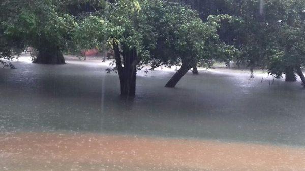 Preocupación en Valle Nacional, no cesa la lluvia. Continúan evacuando familias
