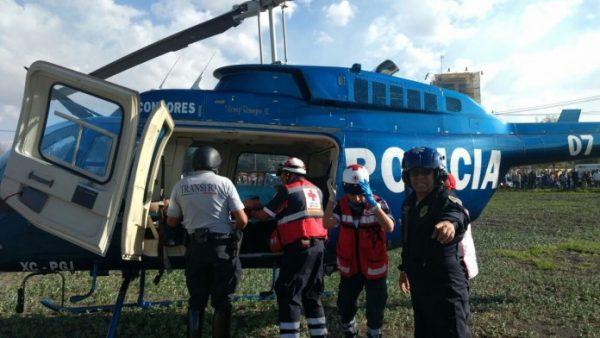 Dos menores heridos con quemaduras en Tultepec, serán trasladados a Galveston