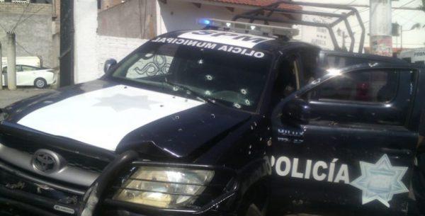 Atacan a balazos a policías en Taxco; hay 3 heridos