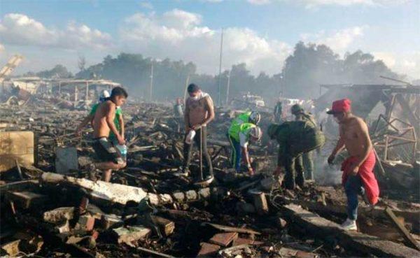Familia de Huajuapan muere en explosion de Tultepec