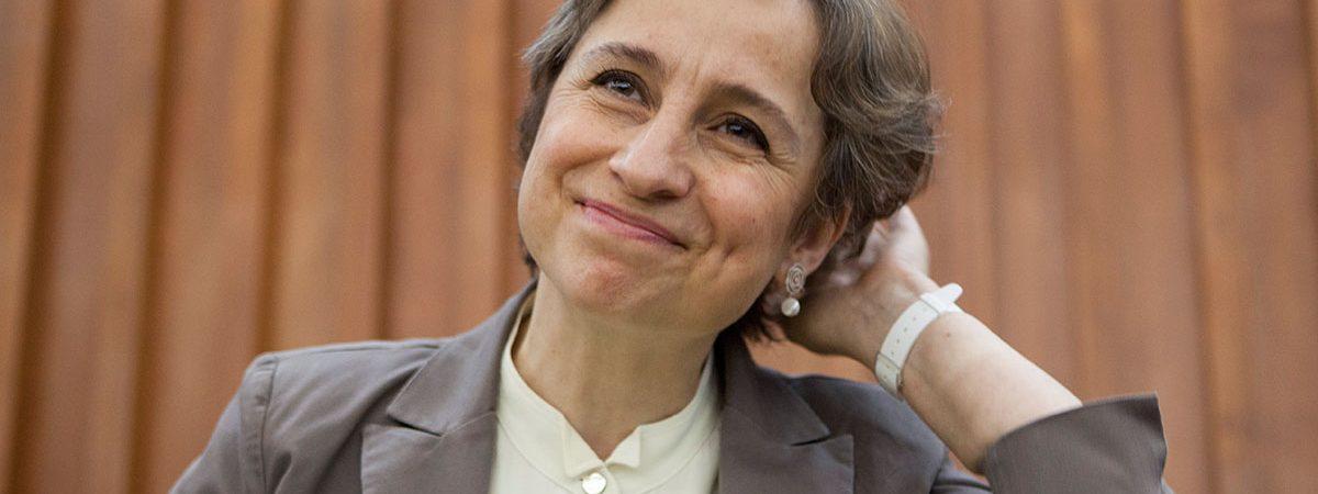 Retorna Aristegui con programa en vivo