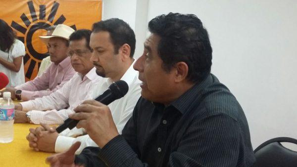 Conflictos dentro del PRD, no afectarán proyecto 2018: Amador Jara