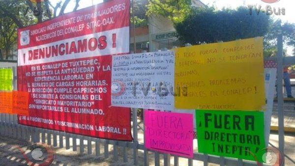 En riesgo inicio de semestre en CONALEP de Tuxtepec