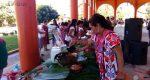 Muestra gastronómica en Jacatepec