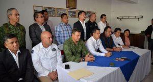 Encabeza Murat primer reunión del Consejo de Seguridad Intersectorial
