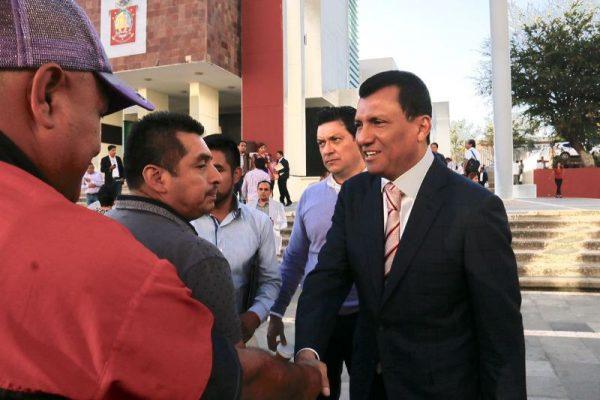 Autoridades municipales reconocen disposición y sensibilidad del Diputado Local Samuel Gurrión