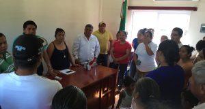 Respalda presidenta de Chiltepec a inconformes por nueva planta de hule