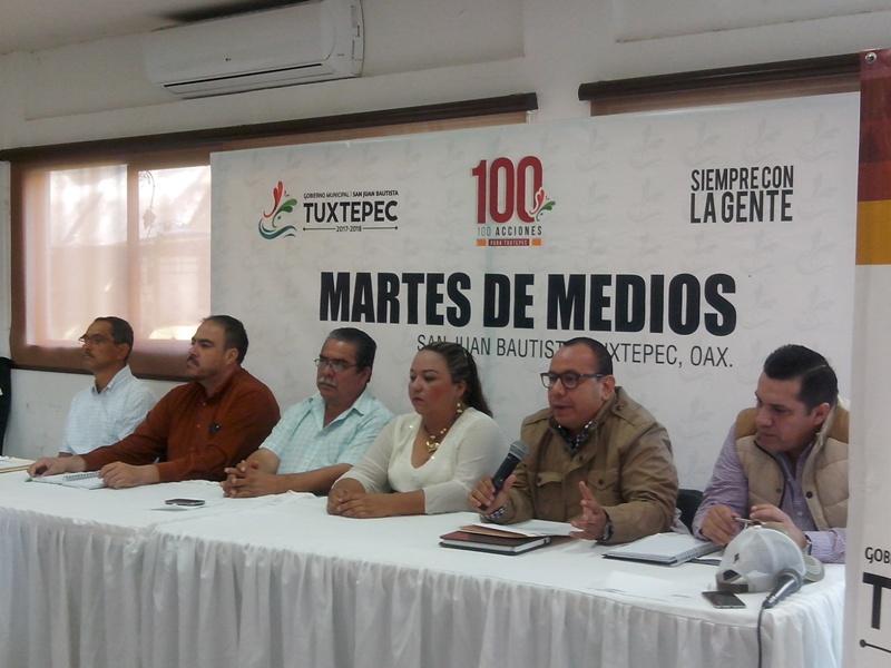 """Gobierno municipal realizó el primer """"Martes de Medios"""""""