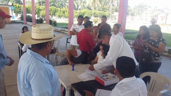 Realizan elecciones para agente en Arroyo Choapam