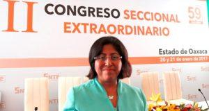 Eligen a Victoria Cruz Villar como nueva líder de la Sección 59 del SNTE