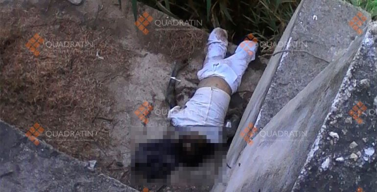 Hallan cadáver en ribera de río en la ciudad de Oaxaca