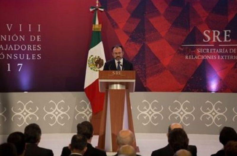 Volvería a invitar a Trump a México: Videgaray