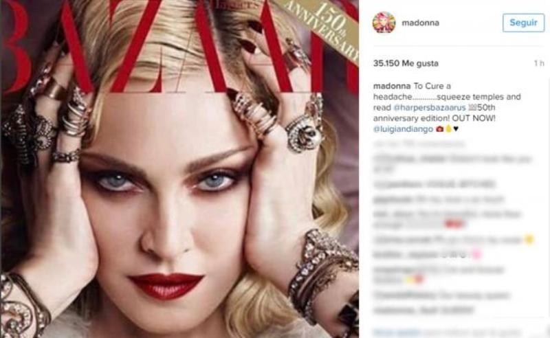 Madonna habla de sus amantes 30 años más jóvenes