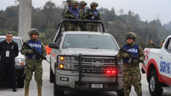 Secuestran a 3 marinos en Veracruz