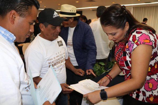 Asiste Diputada Karina Barón a Foro Análisis y Acciones para  Reactivación de la Cafeticultura