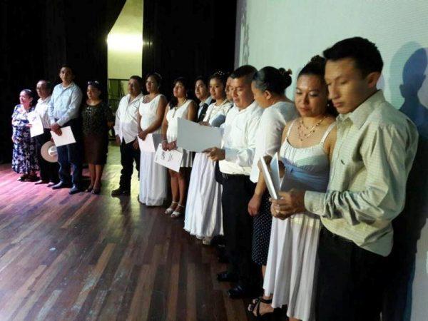 Tuxtepec, el municipio con más bodas colectivas en el Estado