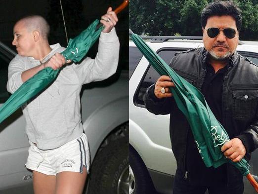 Subastan paraguas con el que Britney Spears atacó a 'paparazzo'