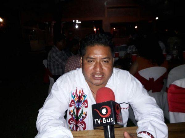Ayotzintepec estancado por culpa de gobiernos perredistas: Edil